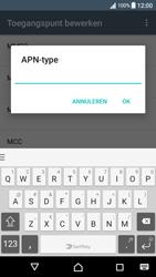 Sony Xperia XA (F3111) - Android Nougat - MMS - Handmatig instellen - Stap 13