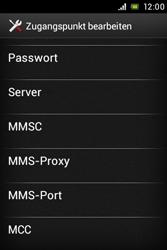 Sony Xperia E - MMS - Manuelle Konfiguration - Schritt 12