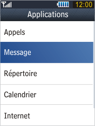 Samsung B3410 Star Qwerty - Messagerie vocale - configuration manuelle - Étape 6