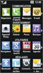 LG GD510 Pop - Messagerie vocale - Configuration manuelle - Étape 3