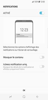 Samsung Galaxy S8 - Sécuriser votre mobile - Activer le code de verrouillage - Étape 11