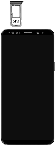 Samsung Galaxy S9 Android Pie - Toestel - simkaart plaatsen - Stap 4