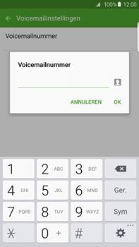 Samsung G928F Galaxy S6 Edge + - Voicemail - Handmatig instellen - Stap 8
