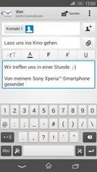 Sony Xperia E4G - E-Mail - E-Mail versenden - 10 / 16
