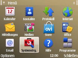 Nokia E72 - WLAN - Manuelle Konfiguration - Schritt 3