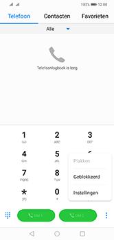 Huawei Y7 (2019) - Voicemail - handmatig instellen - Stap 5
