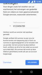 Nokia 1 - apps - account instellen - stap 12