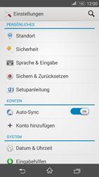 Sony Xperia E4G - Fehlerbehebung - Handy zurücksetzen - 6 / 11