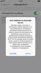 Apple iPhone 8 - iOS 12 - WiFi - Attivare WiFi Calling - Fase 7