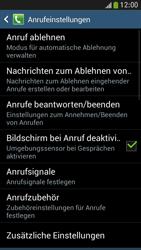 Samsung I9195 Galaxy S4 Mini LTE - Anrufe - Rufumleitungen setzen und löschen - Schritt 6
