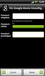 HTC Sensation XL - Apps - Konto anlegen und einrichten - 10 / 18