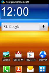 Samsung S5690 Galaxy Xcover - Internet - Automatische Konfiguration - Schritt 5