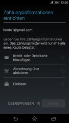 Sony E2003 Xperia E4G - Apps - Konto anlegen und einrichten - Schritt 16