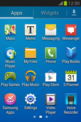 Samsung Galaxy Fame Lite - Applications - Setting up the application store - Step 3