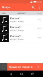 HTC Desire 510 - Photos, vidéos, musique - Ecouter de la musique - Étape 6