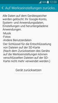 Samsung Galaxy Note 4 - Fehlerbehebung - Handy zurücksetzen - 1 / 1