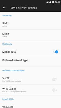 OnePlus 3 - Android Oreo - Internet - Disable data roaming - Step 5