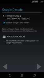 Sony Xperia T3 - Apps - Konto anlegen und einrichten - 13 / 22