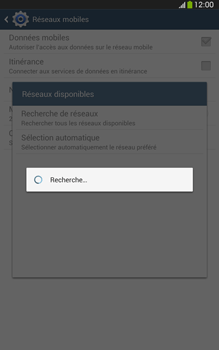 Samsung Galaxy Tab 3 8-0 LTE - Réseau - Sélection manuelle du réseau - Étape 7
