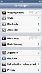 Apple iPhone 5 - Internet - Uitzetten - Stap 3