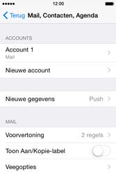 Apple iPhone 4S (iOS 8) - e-mail - handmatig instellen - stap 15