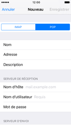 Apple iPhone SE - E-mail - configuration manuelle - Étape 11