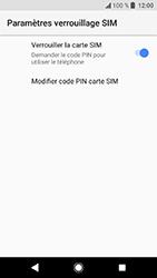 Sony Xperia XA2 - Sécuriser votre mobile - Personnaliser le code PIN de votre carte SIM - Étape 6