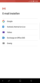 Samsung Galaxy Note 8 - E-mail - handmatig instellen (gmail) - Stap 7