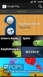 Sony Xperia U - Apps - Konto anlegen und einrichten - Schritt 18