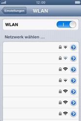 Apple iPhone 3GS - WiFi - WiFi-Konfiguration - Schritt 5