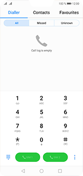 Huawei P20 Lite - Voicemail - Manual configuration - Step 3