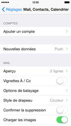 Apple iPhone 5s (iOS 8) - E-mails - Ajouter ou modifier un compte e-mail - Étape 4