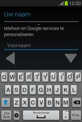 Samsung S6810P Galaxy Fame - apps - account instellen - stap 5