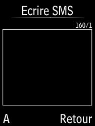 Doro 6620 - Contact, Appels, SMS/MMS - Envoyer un SMS - Étape 6