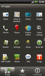 HTC S510b Rhyme - Internet - Manual configuration - Step 3