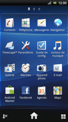 Sony Xperia Ray - Internet - Navigation sur Internet - Étape 2