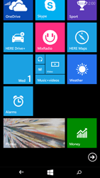 Microsoft Lumia 535 - Getting started - Personalising your Start screen - Step 9