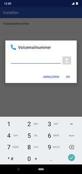 Nokia 7.1 - Android Pie - voicemail - handmatig instellen - stap 10