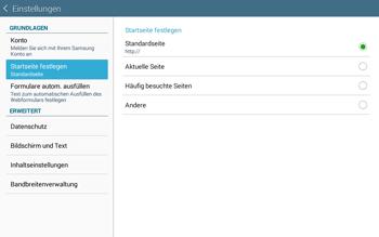 Samsung T535 Galaxy Tab 4 10.1 - Internet und Datenroaming - Manuelle Konfiguration - Schritt 21