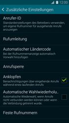 Samsung Galaxy S5 Mini - Anrufe - Rufumleitungen setzen und löschen - 2 / 2