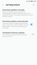 Samsung Galaxy S6 Edge - Android Nougat - Software - Installing software updates - Step 6