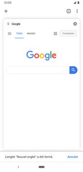 Google Pixel 3a - Internet et connexion - Naviguer sur internet - Étape 19