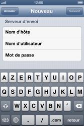 Apple iPhone 4 S - E-mail - Configuration manuelle - Étape 12
