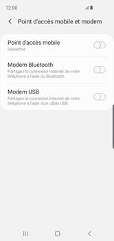 Samsung Galaxy S10e - Internet et connexion - Utiliser le mode modem par USB - Étape 7