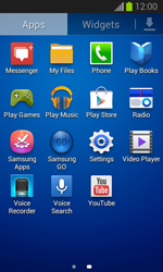 Samsung Galaxy Trend Lite - Applications - Setting up the application store - Step 3
