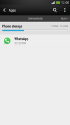HTC One Mini - Applications - How to uninstall an app - Step 5