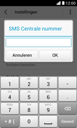 Huawei Ascend Y330 - SMS - SMS-centrale instellen - Stap 7