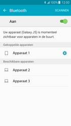 Samsung Galaxy J5 (J500F) - bluetooth - headset, carkit verbinding - stap 8