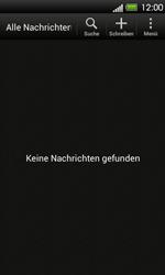 HTC One V - SMS - Manuelle Konfiguration - 1 / 1