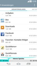 LG G3 - Apps - Eine App deinstallieren - Schritt 6